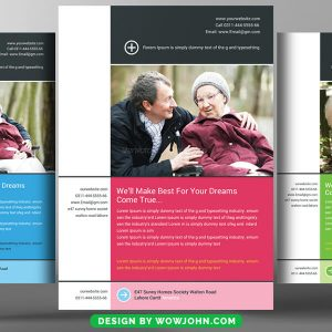 Free Flyer For Senior Care Psd Template