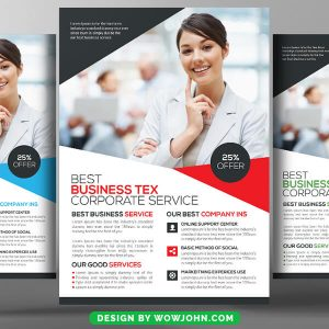 Free Banking Business Psd Flyer Template