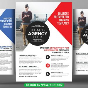 Free Coaching Psd Flyer Template