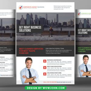 Free Construction Psd Flyer Template
