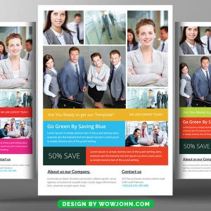 Free Contractors Psd Flyer Template