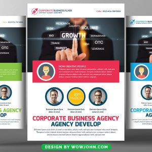 Free Covid-19 Psd Flyer Template