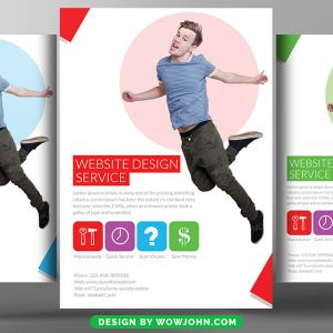 Free Graphic Designers Psd Flyer Template