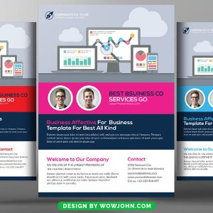 Free Online Education Psd Flyer Template