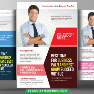 Free Financial Planning Consulting Psd Flyer Template