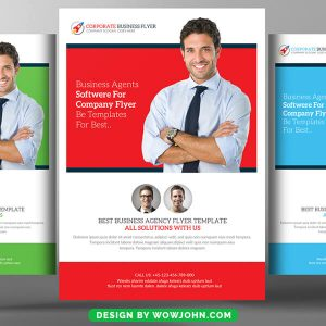 Free Marketing Consultant Flyer Psd Template