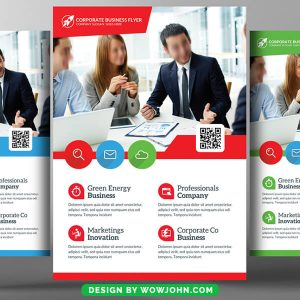 Free Architectural Firm Psd Flyer Template