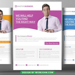 Free Bookkeeping Accounting Services Psd Flyer Template