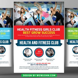 Free Gym Flyer Psd Flyer Template
