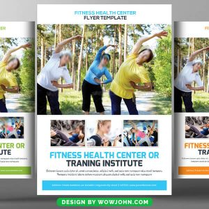 Free Yoga Classes Psd Flyer Template