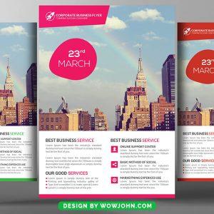 Business Summit Flyer PSD Template