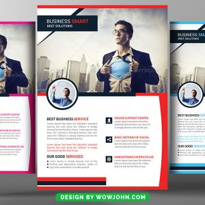 Free Business Training Psd Flyer Template