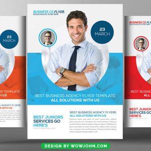 Free Marketing Coaching Flyer Psd Template