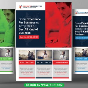 Free Coaching Workshop Flyer Psd Template