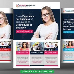 Free Professional Dental Care Flyer Psd Template