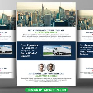 Free Company Event Flyer Psd Template