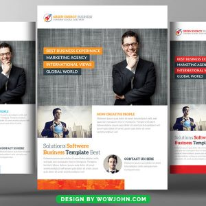 Free Charity Campaign Flyer Psd Template