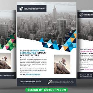 Free Internet Service Provider Psd Flyer Template
