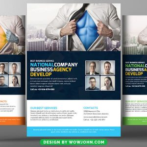 Free Nutrition Psd Flyer Template