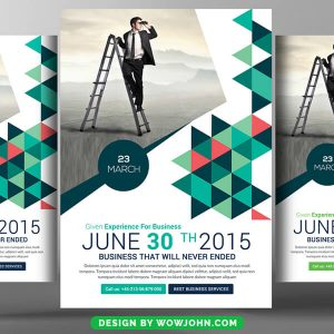 Free Tech Consulting Flyer Psd Template