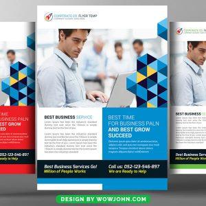Free Workshop Promotion Flyer Psd Template