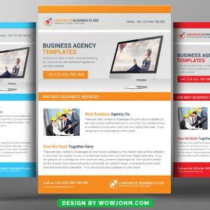 Free Marketing Workshop Flyer Psd Template