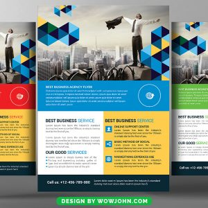 Free Science Exhibition Flyer Psd Template