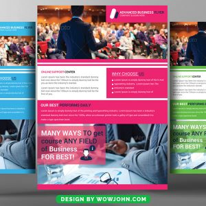 Free Charity Auction Flyer Psd Template