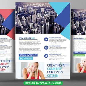 Free Interior Design Promotion Flyer Psd Template