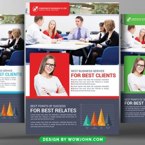 Free House Real Estate Flyer Psd Template