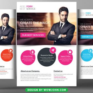 Free Painter Painting Contractor Flyer Psd Template