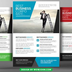 Free Wealth Management Services Flyer Psd Template