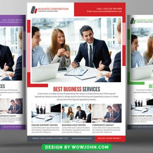 Free Mortgage Broker Flyer Psd Template