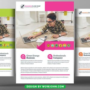 Free Pharmacy Flyer Psd Template