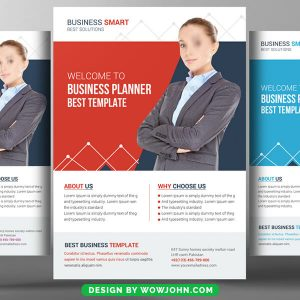 Free HR Consulting Flyer Psd Template