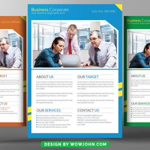 Free Political Flyer Psd Template
