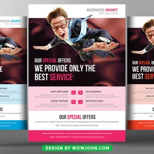 Free Promotional Flyer Psd Template