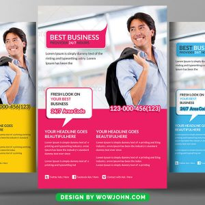 Free Real Estate Agent Flyer Psd Template