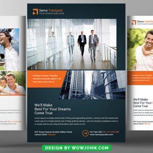 Free Internet Marketing Flyer Psd Template