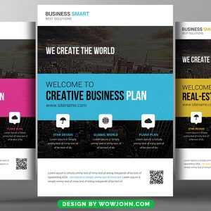 Free Business Consulting Flyer Psd Template