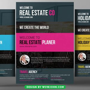Free Residential Realtor Flyer Psd Template