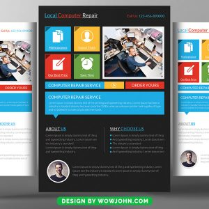 Free Real Estate Marketing Flyer Psd Template
