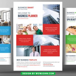Free Electrician Flyer Psd Template