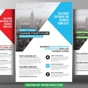 Free Urban Real Estate Flyer Psd Template