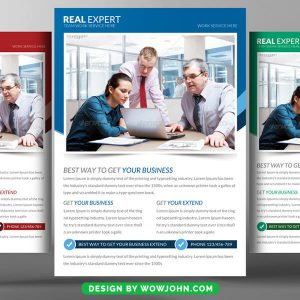 Free Real Estate Promotion Flyer Psd Template