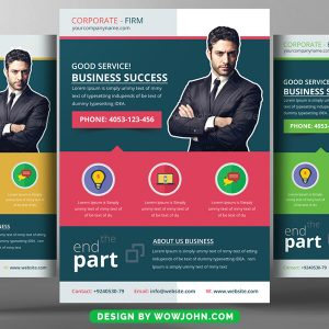 Free Residential Real Estate Flyer Psd Template