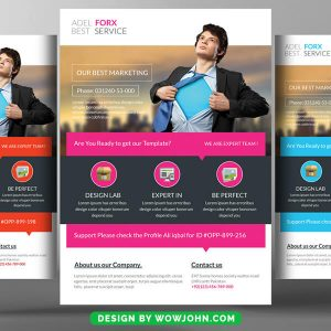 Free Small Business Flyer Psd Template