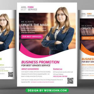 Free Software Company Flyer Psd Template