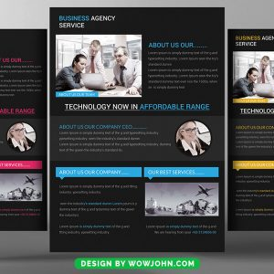 Free Training Flyer Psd Template