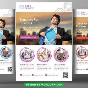 Corporate Business PSD Flyer Template